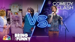 Sketch Group The Valleyfolk Performs in the Comedy Clash Round - Bring The Funny (Comedy Clash)
