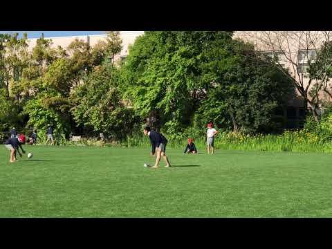 立夏から裸足〜なぎさ公園小学校 2018/05/10の朝