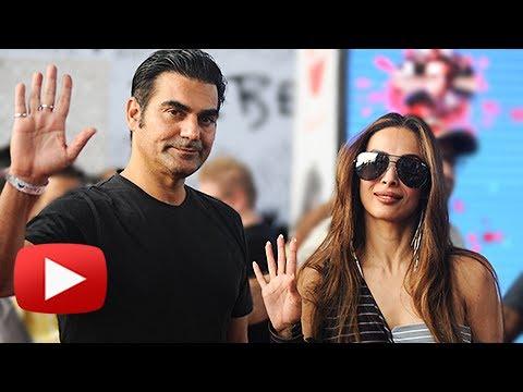 Malaika Arora And Arbaaz Khan SPOTTED Together At