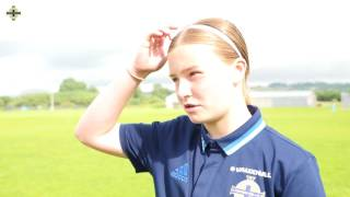 Emily Wilson shared after scoring on her debut for the Women Under 19s as they beat Wales 3-1.