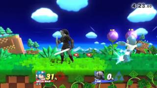 Chain Grabbing in Smash 4!?!?