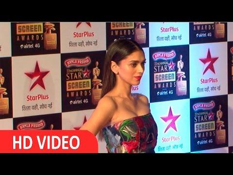Aditi Rao Hydari On Red Carpet Of Star Screen Awards 2016
