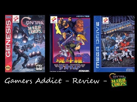 Contra Hard Corps - [Megadrive] - #0095 - Review [Fr]