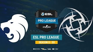 North vs NiP - ESL Pro League S8 EU - bo1 - de_train [CrystalMay, Smile]