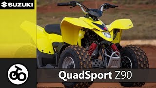 9. QuadSport Z90 | FUN ATV | Suzuki Motorcycle | Motorziklo
