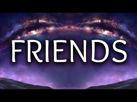 Justin Bieber ‒ Friends (Lyrics / Lyric Video) ft. BloodPop®