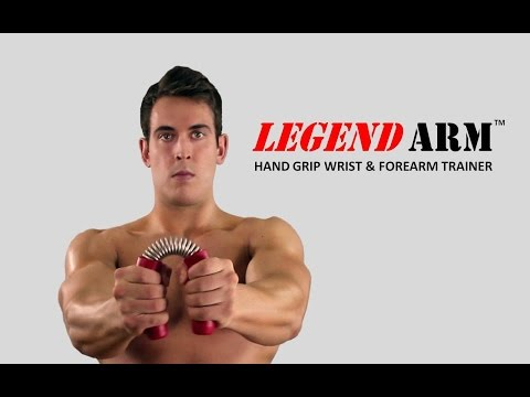 LEGEND ARM Hand Grip Wrist & Forearm Trainer