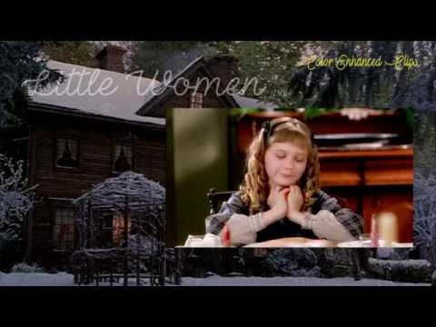 "Little Women 1994 Film - ""Isn't Butter Divinity?"" (Color Enhanced Clips) HD"