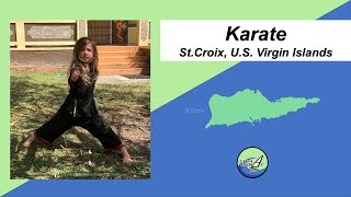 Karate: St.Croix, U.S. Virgin Islands