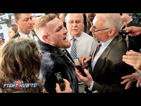 "Conor Mcgregor ""I'm gonna stop floyd! The world is gonna eat their words! I am boxing!"