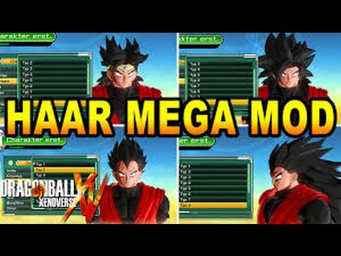 Hairstyles Xenoverse Mod : Xenoverse Hairstyles Mod - Best Hairstyle 2016