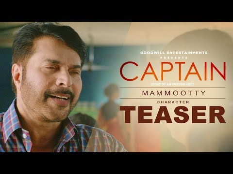 Mammootty Character Teaser | Captain | Jayasurya