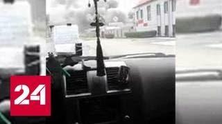 При пожаре на складе в Барнауле погиб человек