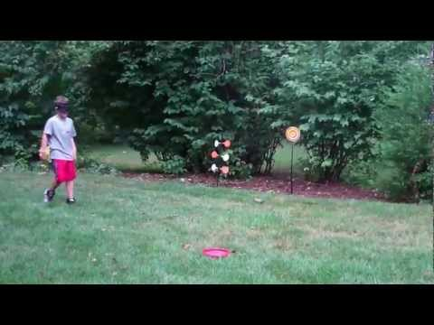 JT SplatMaster - Kids Video - Frisbee Toss
