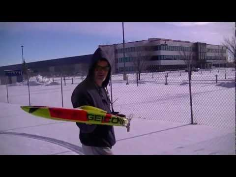 Apparently RC boats work on snow. As show by two Canadians.