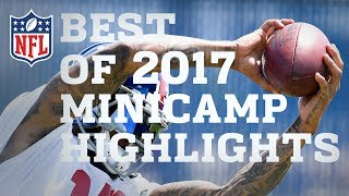 highlights from 2017 minicamps  nfl
