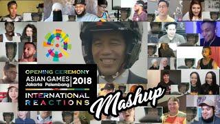 Video Cuplikan Kemeriahan Opening Asian Games 2018 Reaction - Mushup MP3, 3GP, MP4, WEBM, AVI, FLV Januari 2019