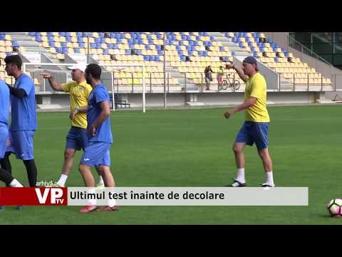 Fotbaliștii Petrolului vor da ultimul test înainte de decolarea spre Slovenia.