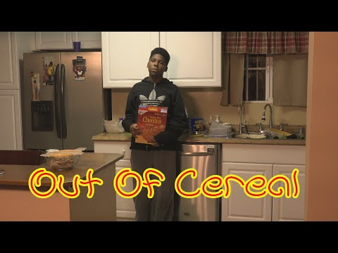 Out Of Cereal! 😂COMEDY😂 (David Spates)