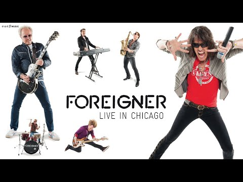 """FOREIGNER """"Waiting For A Girl Like You"""" Live from """"Foreigner Live In Chicago"""""""