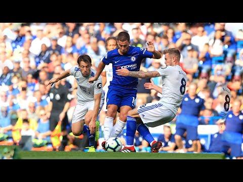 5 minuets of Hazard vs Cardiff (Home) HD 2018