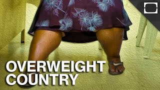 Subscribe! http://bitly.com/1iLOHml The Republic of Nauru is one of the fattest nations in the world. With over 80% of their ...