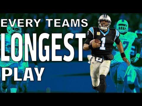 Every Teams Longest Play of the 2017 Season!  NFL Highlights