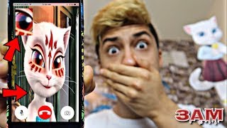 Video DO NOT FACETIME TALKING ANGELA AT 3AM!! *OMG SHE CAME TO MY HOUSE* MP3, 3GP, MP4, WEBM, AVI, FLV Desember 2018