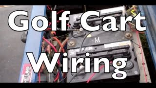 9. Golf cart electrical
