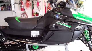 9. 2010 Arctic Cat Z1 Turbo EXT