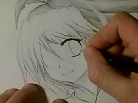 How to draw Anime eyes (female)- [GERMAN] 1