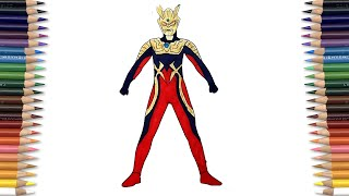 Video Ultraman ZERO Coloring Pages SAILANY Coloring Kids MP3, 3GP, MP4, WEBM, AVI, FLV Mei 2018