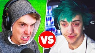 i beat NINJA in fortnite