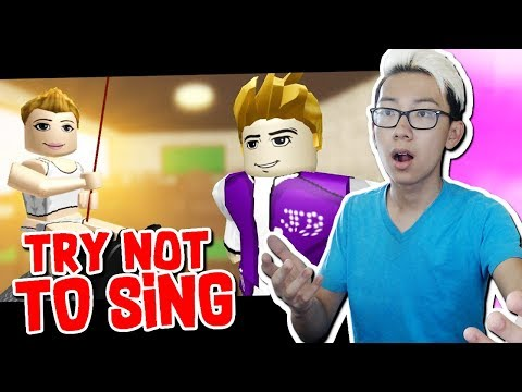 TRY NOT TO SING ALONG!! (ROBLOX Challenge)