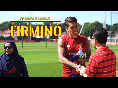 EXCLUSIVE: Hanging Out With Firmino | #ForFansOnly | Astro SuperSport