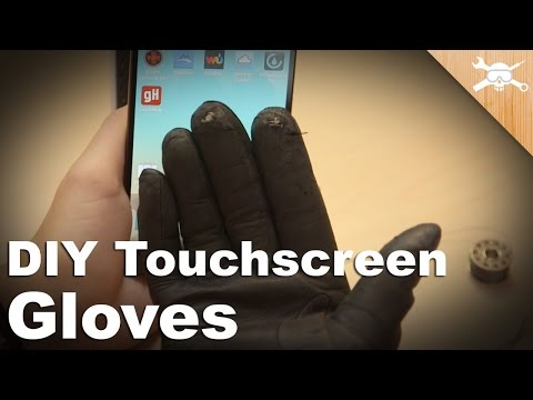 Make Your Favorite Gloves Work With a Touchscreen!