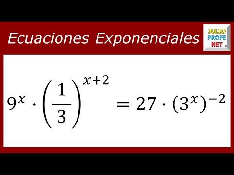Solucion de una Ecuacion Exponencial
