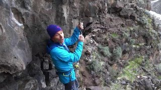 Clipping Quickdraws by Metolius Climbing