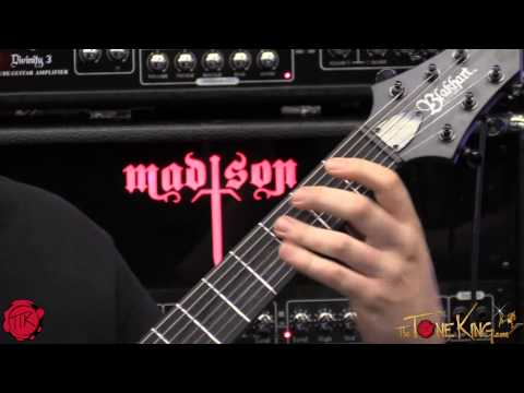 MADISON AMPS is BACK!  METAL!!!  NAMM 2015 '15