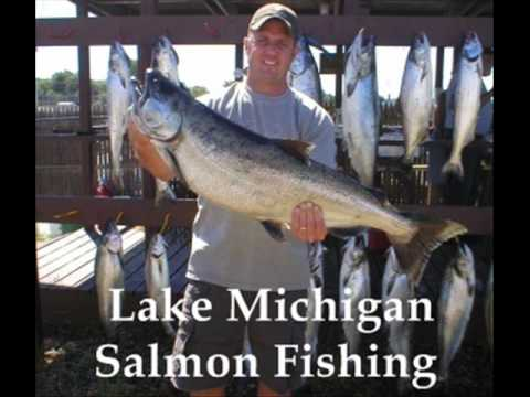 Fishing Lake Erie and Michigan for Walleye, Salmon and Perch