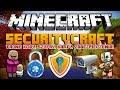 Minecraft 1.8 Mody - SecurityCraft Mod - Tajne Kody, Szyfry, Karty, Zabezpieczenia, Trollowanie!