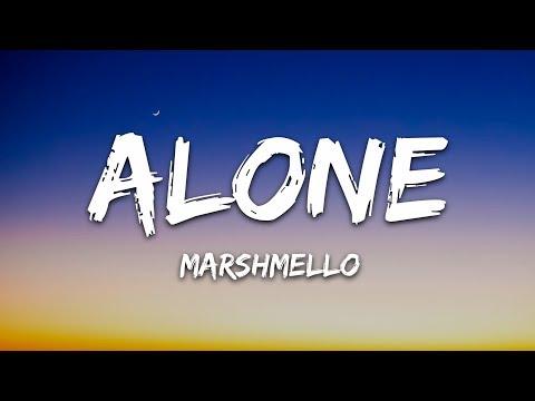 Marshmello - Alone (Lyrics)