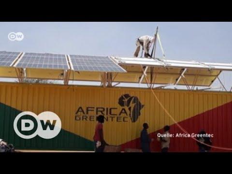 Strom für Afrika - mit mobilen Solarkraftwerken | DW De ...