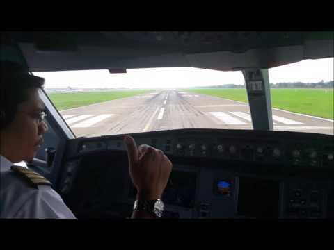 A330 Taxi-TakeOff from Soekarno Hatta int Airport