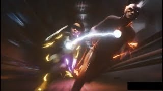 The Flash 5×01 Barry helps Nora travel home