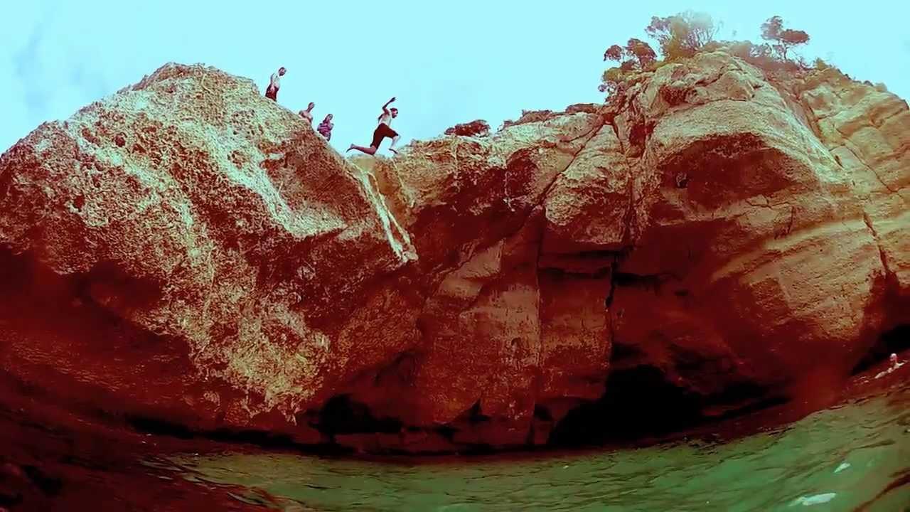 Slow jump en Cala Mitjana