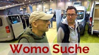 Wohnmobil Suche auf der Reise + Camping Messe in Essen Video