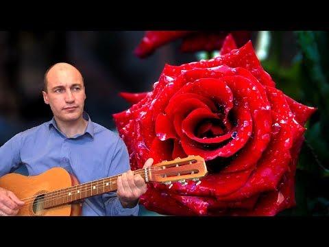 """""""Роза"""". Песня под гитару (авторская)."""
