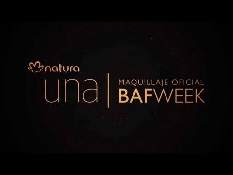 Natura una - Maquillaje oficial de BAFWEEK 2013-2014