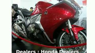 3. 2012 Honda VFR 1200F -  motorbike Specs Engine Top Speed Dealers Specification Info Details